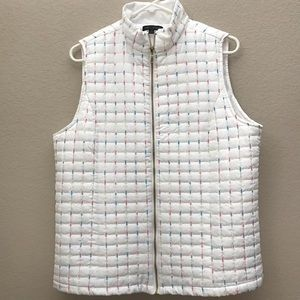 For Cynthia Quilted puffer vest
